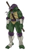ninja turtles next mutation sketch of Donatello by KingJames06