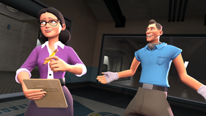 Scout and Pauling by Hellhounds04