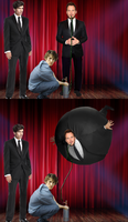 Isaac the Incomparable inflates Chris Pratt by jaredofmo