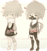 Auction : Semi-Chibi Set 2 [CLOSED] by HyRei