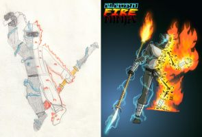 Electro Fire Ninja 1988 - 2010 by DBed