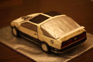 1983 Trans Am Cake by emobear