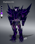 TFOC Nightwraith by Imber-Noctis