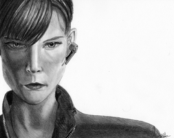 Avengers: Maria Hill by wondering-souls