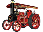 Steam Engine 02 PNG Stock by Roy3D
