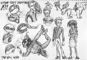 random test sketches XII by therealarien