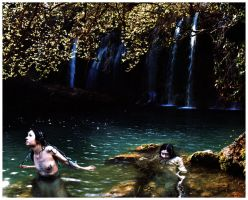 mermaids by littlemissfreak
