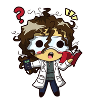 Squishy Scientist - Joe by JammyScribbler