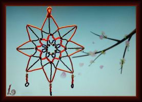 Unusual dreamcatcher by alena-light