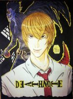 Death Note: Light Yagami and Ryuk by bruextian06