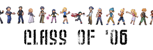 Class of '06, DP Sprites by sandragon13