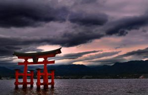 Time in Miyajima by DavidNowak