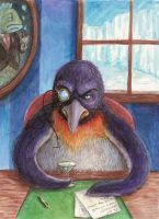 The Evil Penguin at home by GlobeyM7