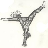 Cirque, uncolored by LilFoxDemon
