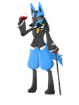 Fancy Lucario by TommyBinh