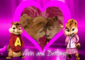 alvin and brittany day of St. Valentine by alexandrta
