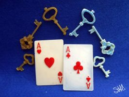 Keys And Cards by sushann