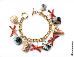 Bracelet Christmas Sweets1 by allim-lip