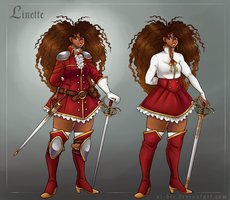 OoC - Linette by Ai-Bee