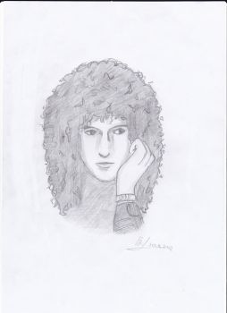 Brian May by LennonGlasses