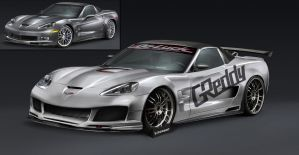 Corvette zr1 with original by Brittegil