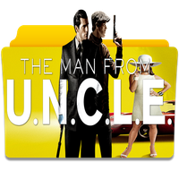 The Man from U.N.C.L.E. Folder Icon by gterritory