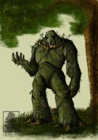 Swamp Thing by erlkoenig