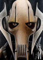 Grievous Sketch Card by RandySiplon