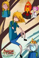 Adventure time mini-comic: Another me... by hadescryushiu