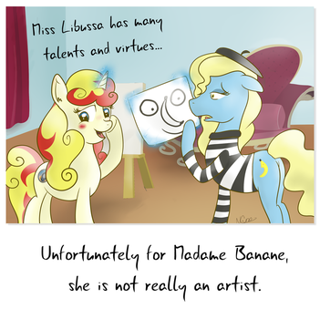 Le Banane by Cwossie