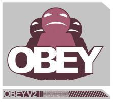 OBEY by LUCIDink