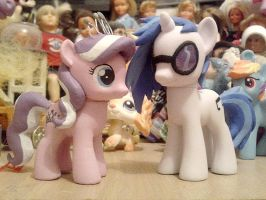 WIP Diamond Tiara and Vinyl Scratch by Oak23