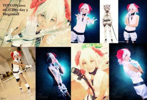 VOCALOID: Rin Kagamine Knife by jycll