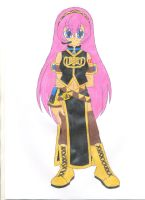 Megurine Luka by animequeen20012003
