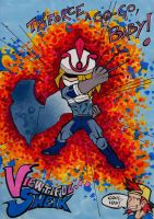 Viewtiful Sheik by crimsontriforce