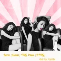 Bora PNG Pack ( 4PNG) by KwonLee