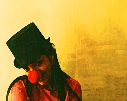 My friend the Clown by rmrJss