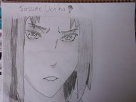 Sasuke Uchiha (Shippuden Shaded) by EzmeAG98
