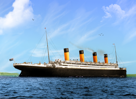 Prettier Than a Picture by RMS-OLYMPIC