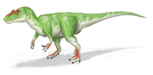 Allosaurus fraudulous by CyRaptor