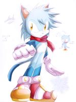 Request - Icicle The Cat by EdwardTCat