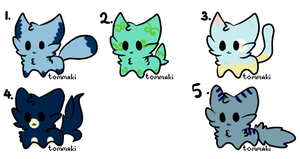 Cheap Kitty Adopts:: OPEN:: by InuLover097