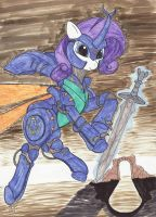 Aura Battler Rarity by EnigmaticThief