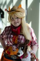 AppleJack Cosplay - Sakuracon 2012 by katiebobbaseball11