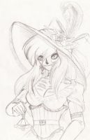 Sketch Esmeralda-Catrina by Angel-Corp