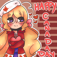Canada Day by Azuuhime
