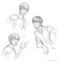 Ed Dillinger jr sketches by ConnyChiwa