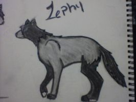 wolf two Zephy by blueyellowgreen