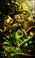 Green Medusa by MARKCAPE