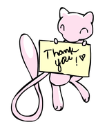 Mew Thank You by sunnyfish